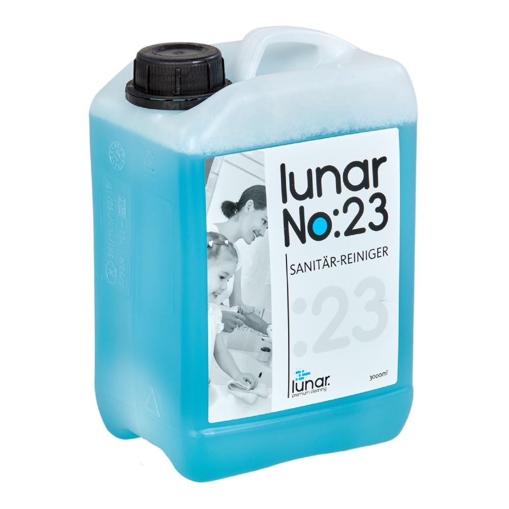 lunar. premium cleaning 3 Liter Sanitärreiniger Konzentrat Kanister