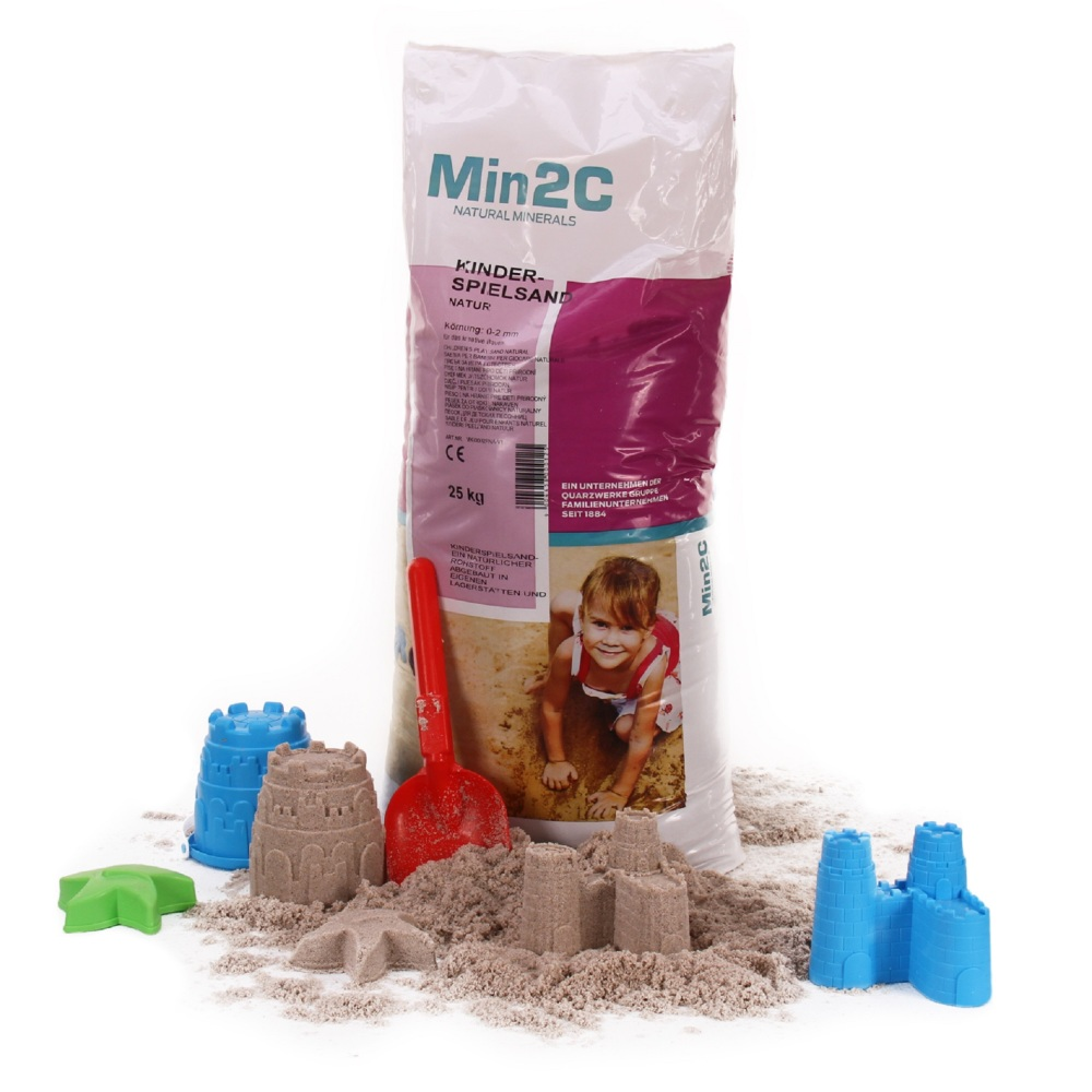 A&G-heute Min2C 25kg Kinderspielsand Quarzsand