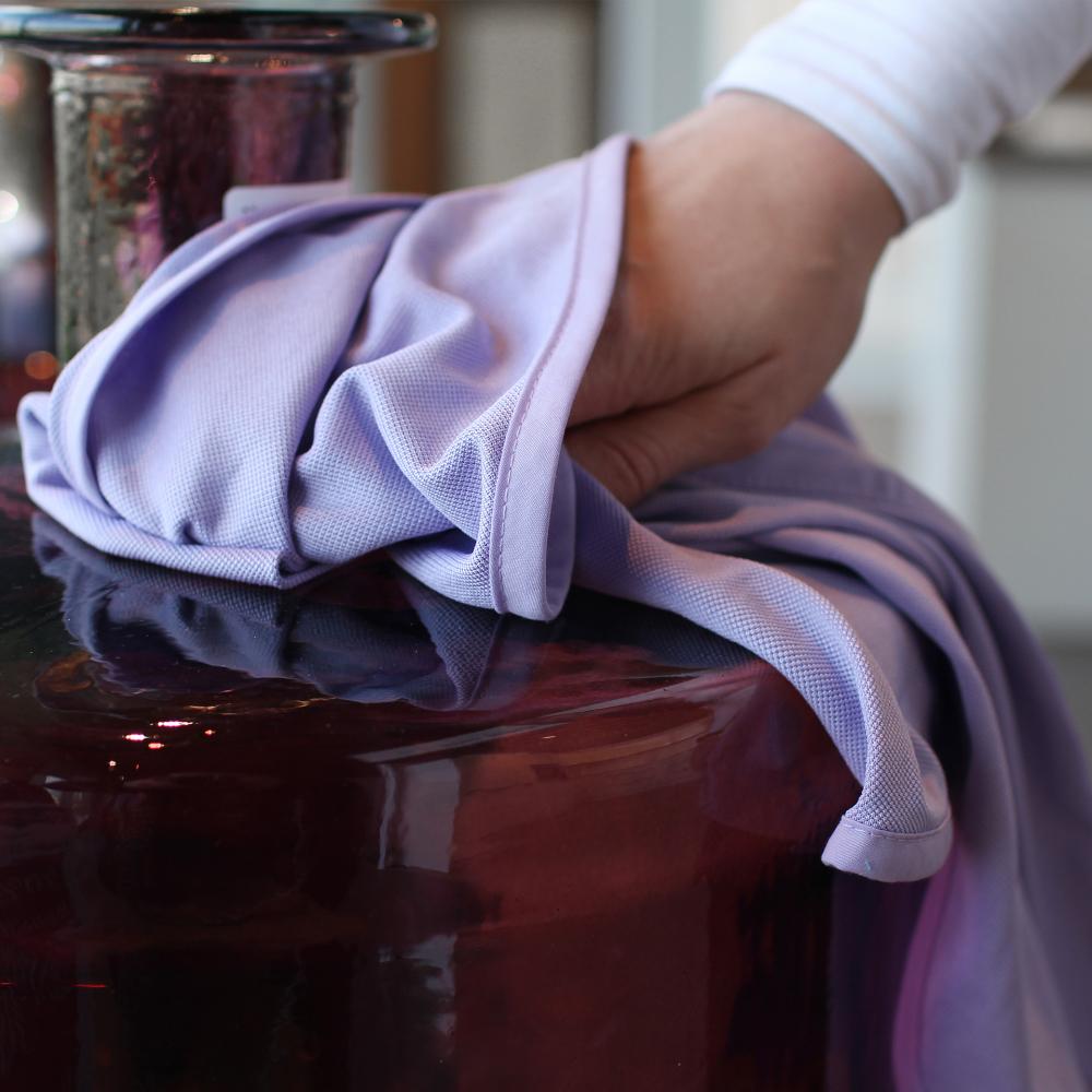 lunar. premium cleaning 2 Stück Glaspoliertücher