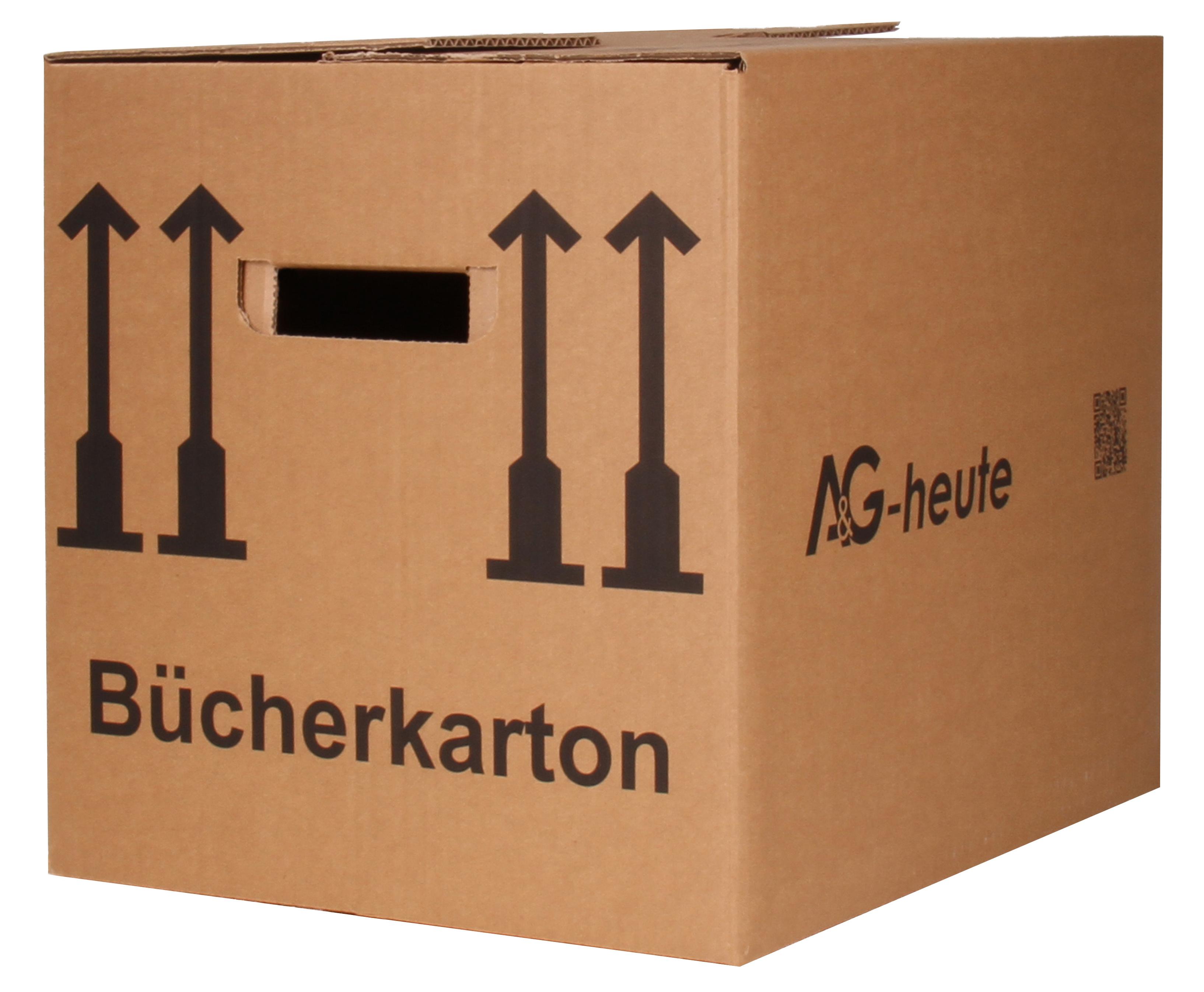 A&G-heute Bücherkartons 400 x 330 x 340mm