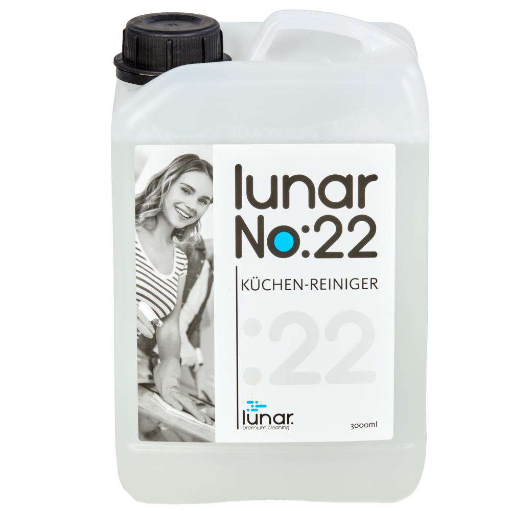 lunar. premium cleaning 3 Liter Küchenreiniger Konzentrat