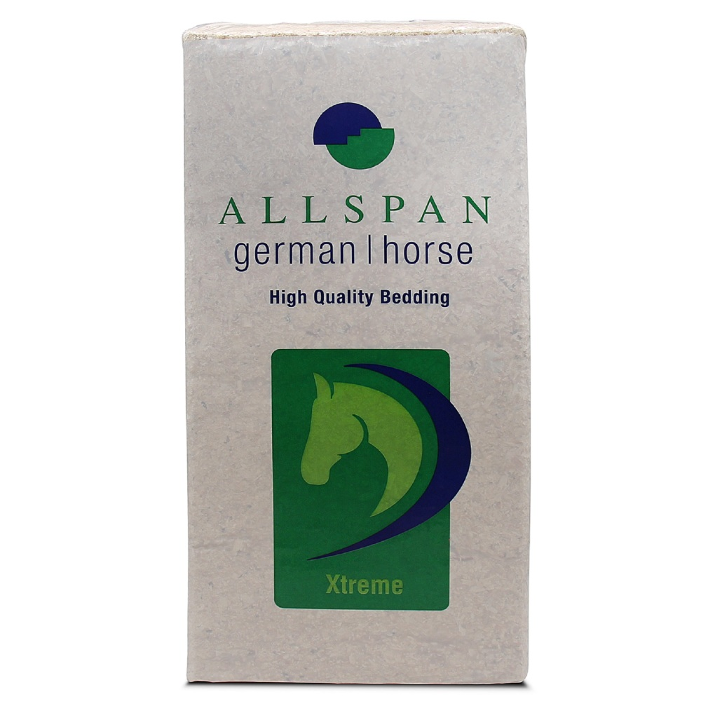 ALLSPAN 18kg Einstreu German Horse Span Xtreme 110l
