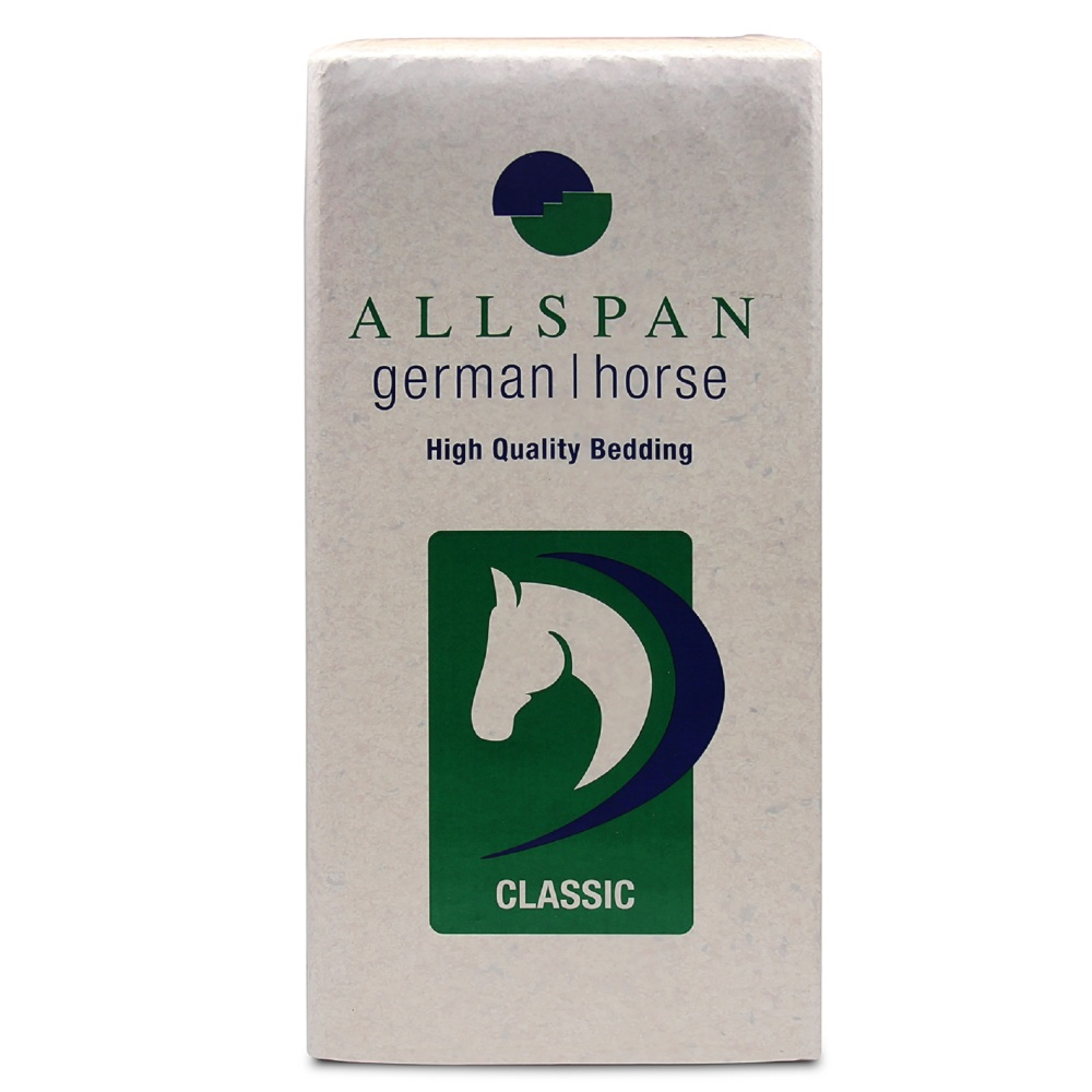 ALLSPAN 19kg Einstreu German Horse Span Classic 500l