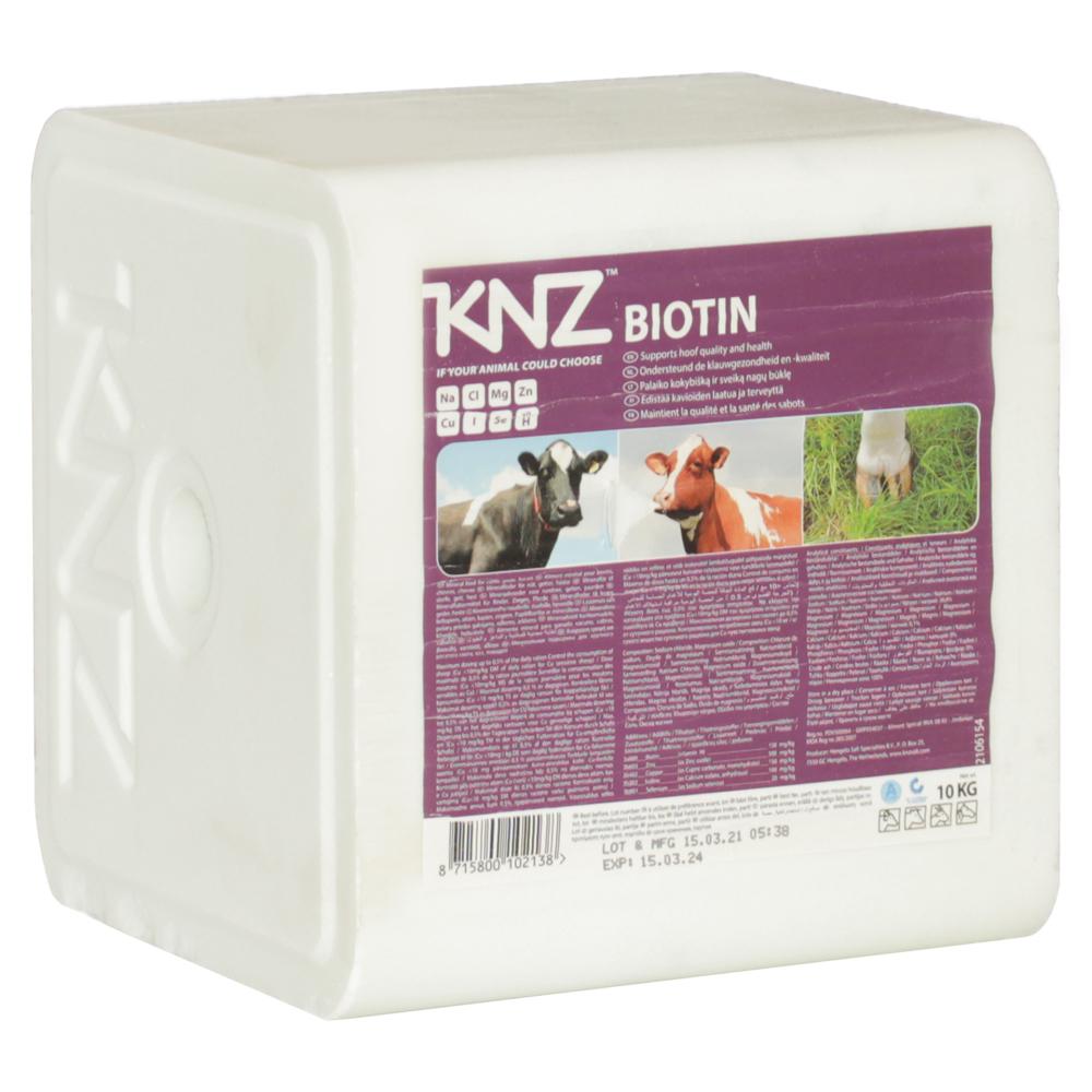 KNZ Leckstein Biotin Block mit Selenium 10kg