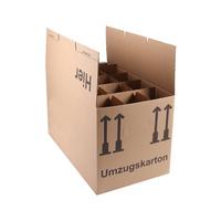 A&G-heute Gläserkartons Flaschenkartons 2-Wellig 15 Flaschen
