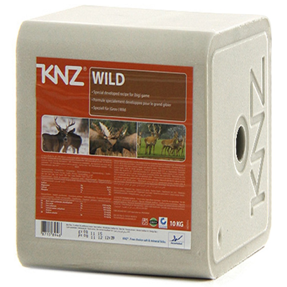 KNZ Mineralleckstein Salzleckstein Wild
