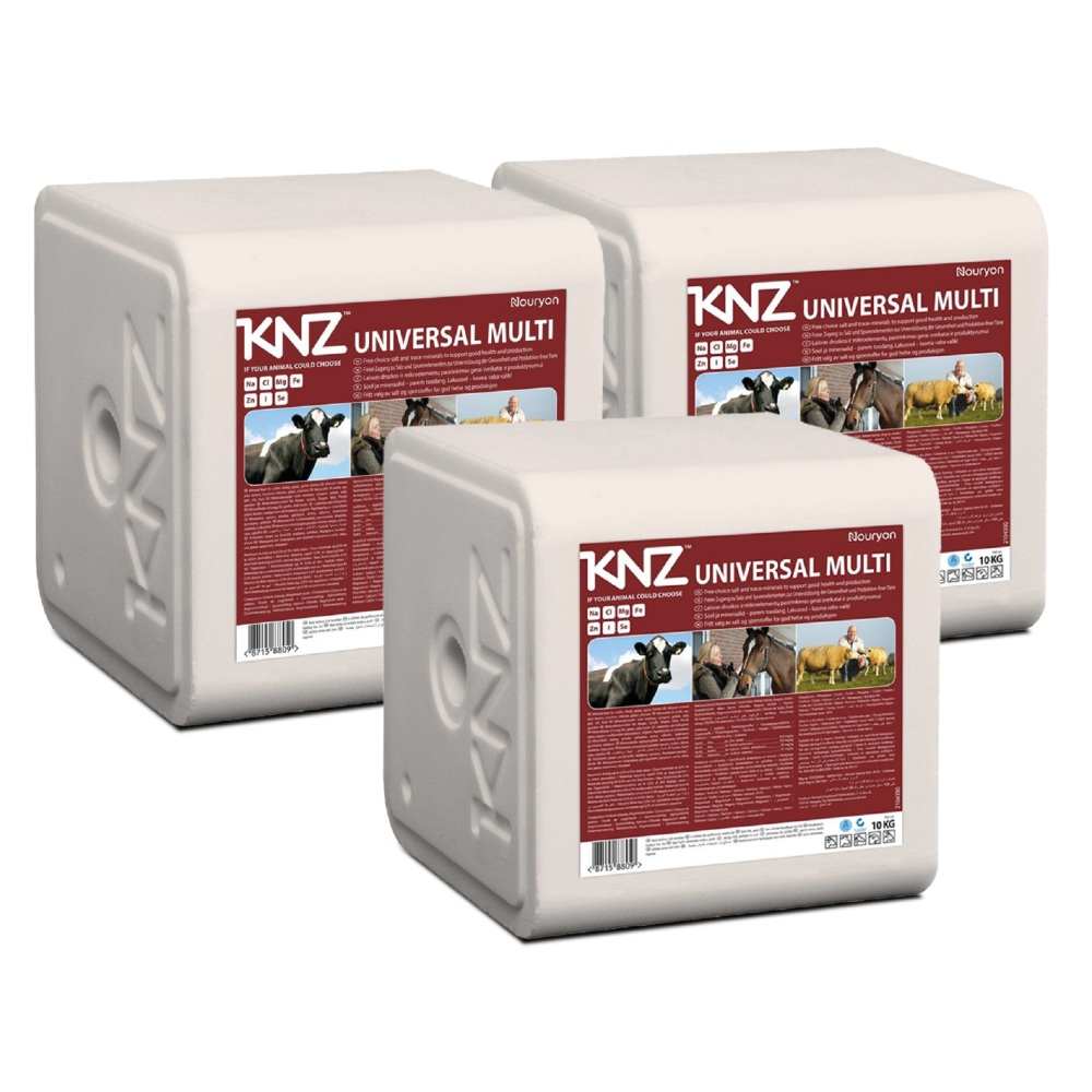 KNZ Universal Multi Mineralleckstein Salzleckstein Nutztiere