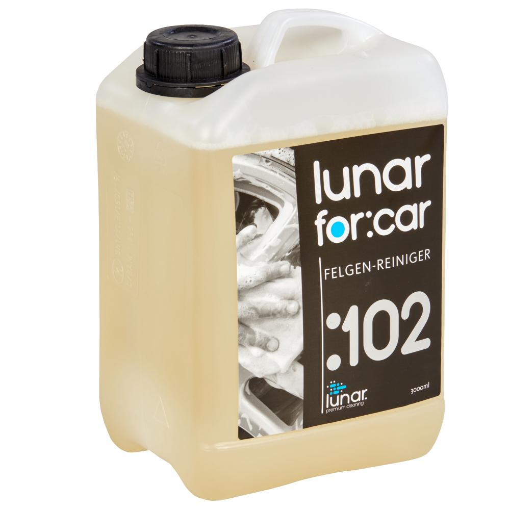 lunar. premium cleaning 3 Liter Felgenreiniger Konzentrat