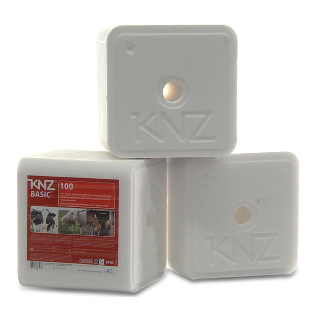 KNZ Basic 100 Magnum Mineralleckstein Salzleckstein Nutztiere