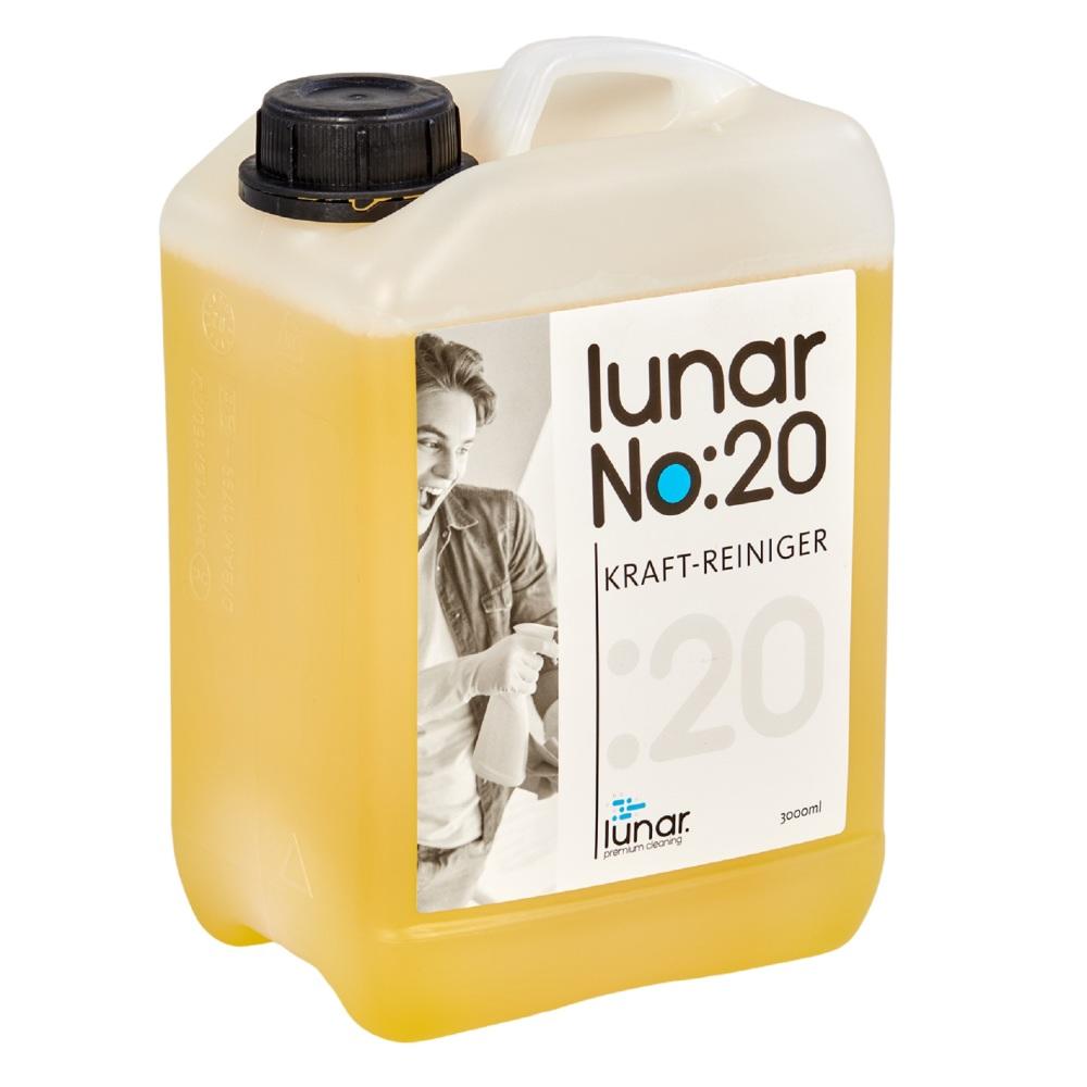 lunar. premium cleaning 3 Liter Kraftreiniger Konzentrat