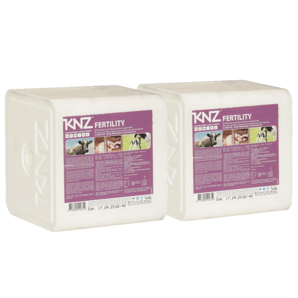KNZ 2 Lecksteine je 10kg Mineralleckstein Fertility