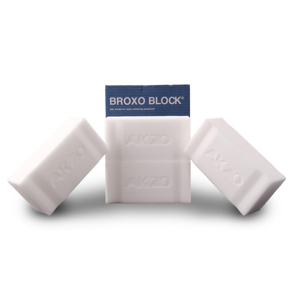 Broxo Block 4 x 2,5kg Regeneriersalz Siedesalz
