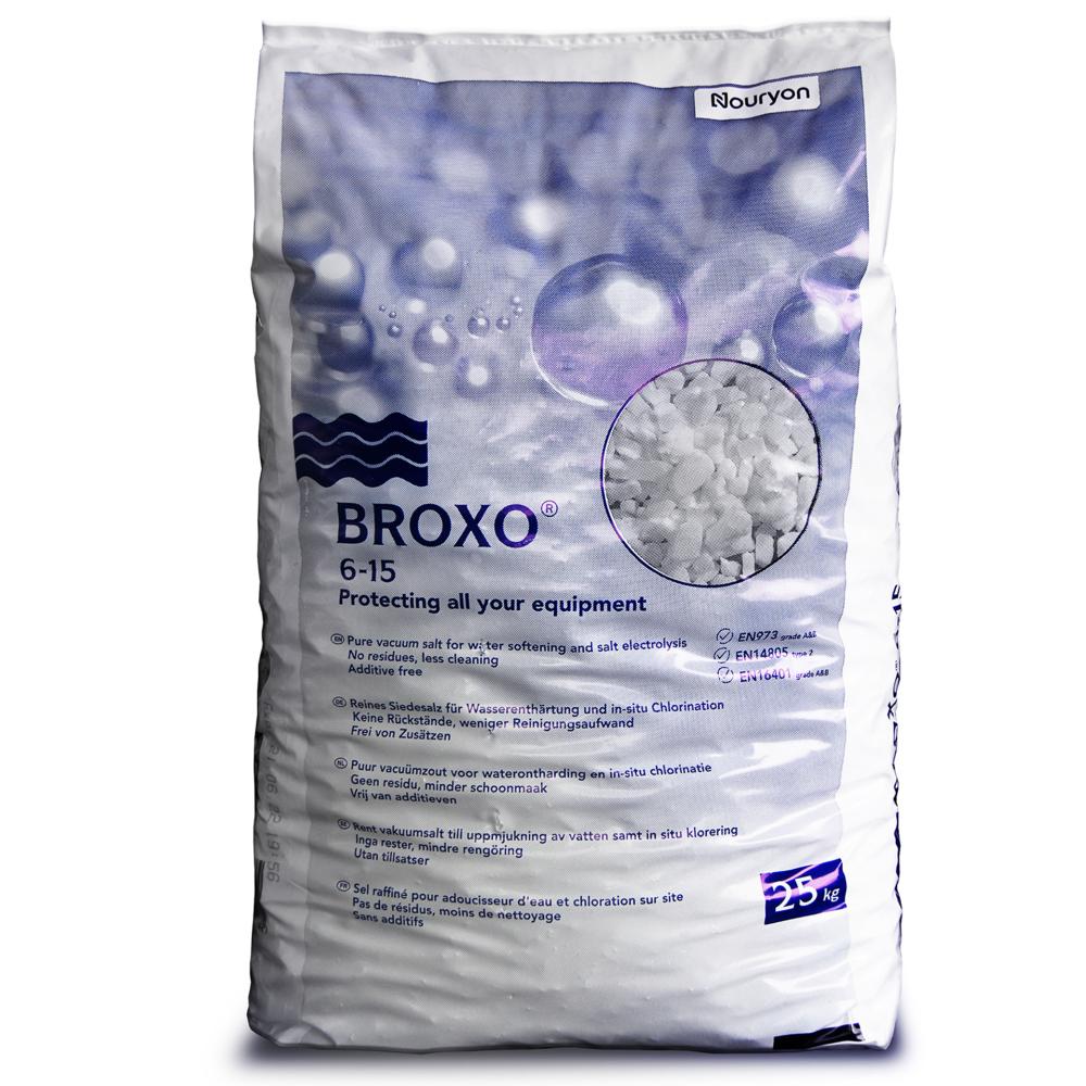 Broxo 6-15 25kg Regeneriersalz Poolsalz