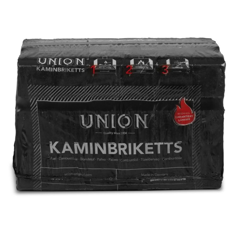 UNION Kaminbriketts Braunkohlebriketts Klütten