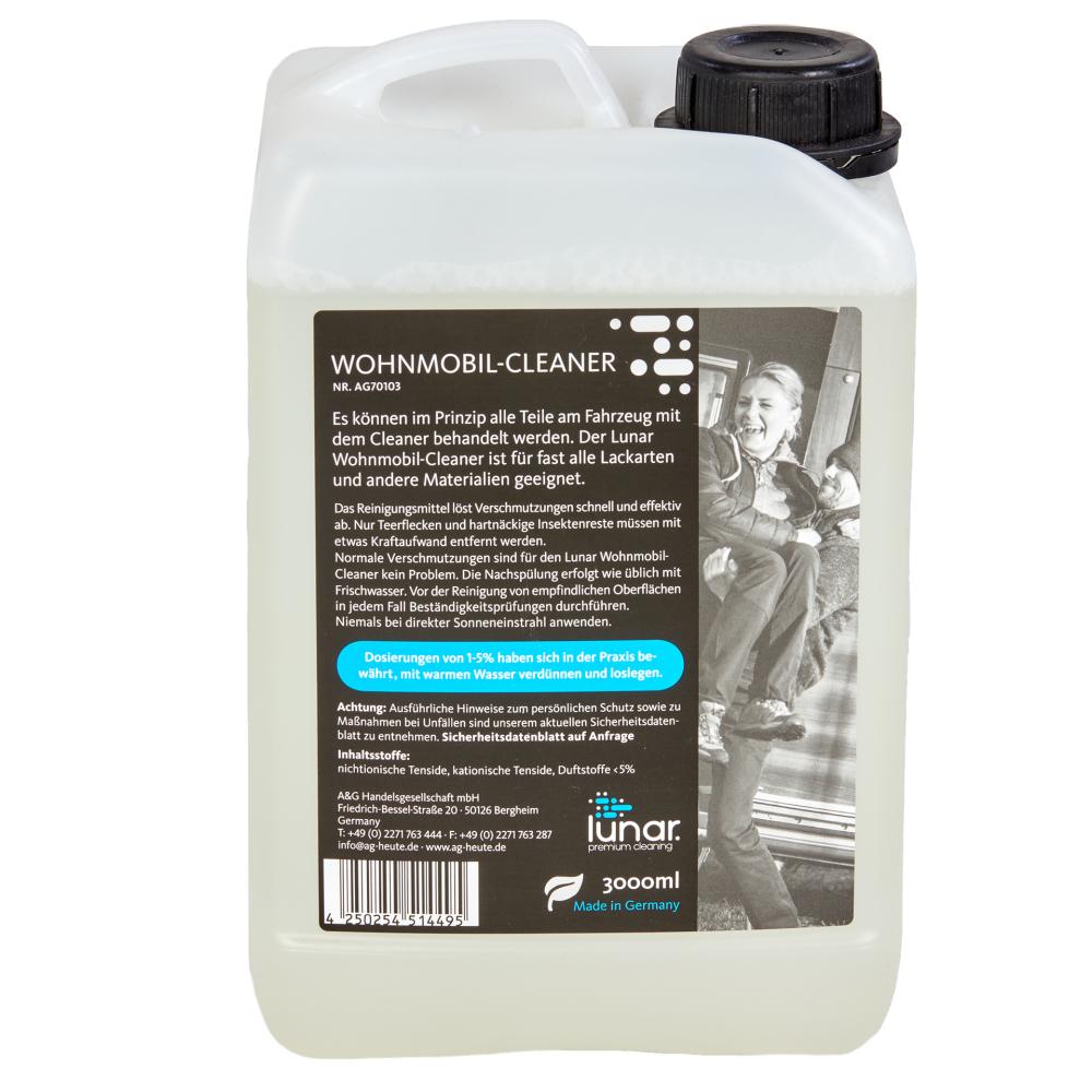 lunar. premium cleaning 3 Liter Wohnmobilreiniger Konzentrat