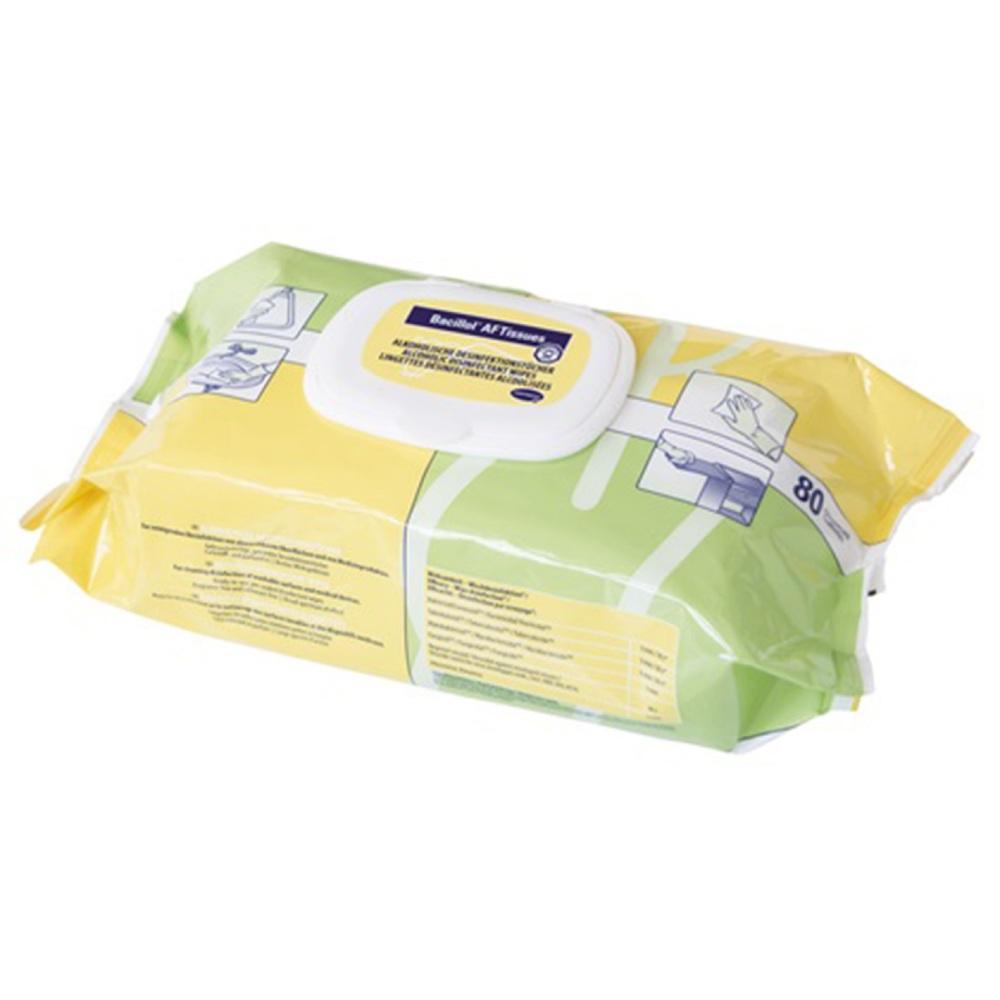 Bacillol AF Tissues 80 Stück Alkoholische Schnell-Desinfektionstücher
