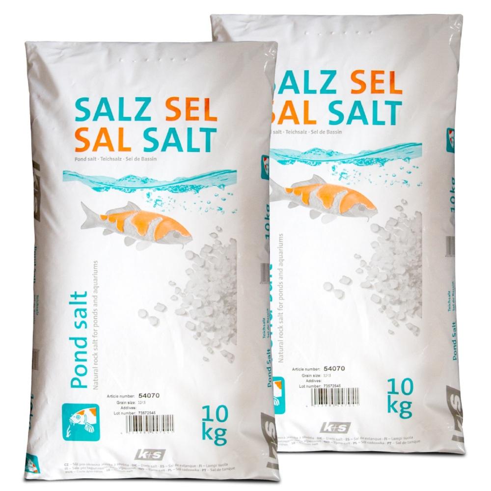 K+S Esco Teichsalz für Zierfische Teichfische Kois