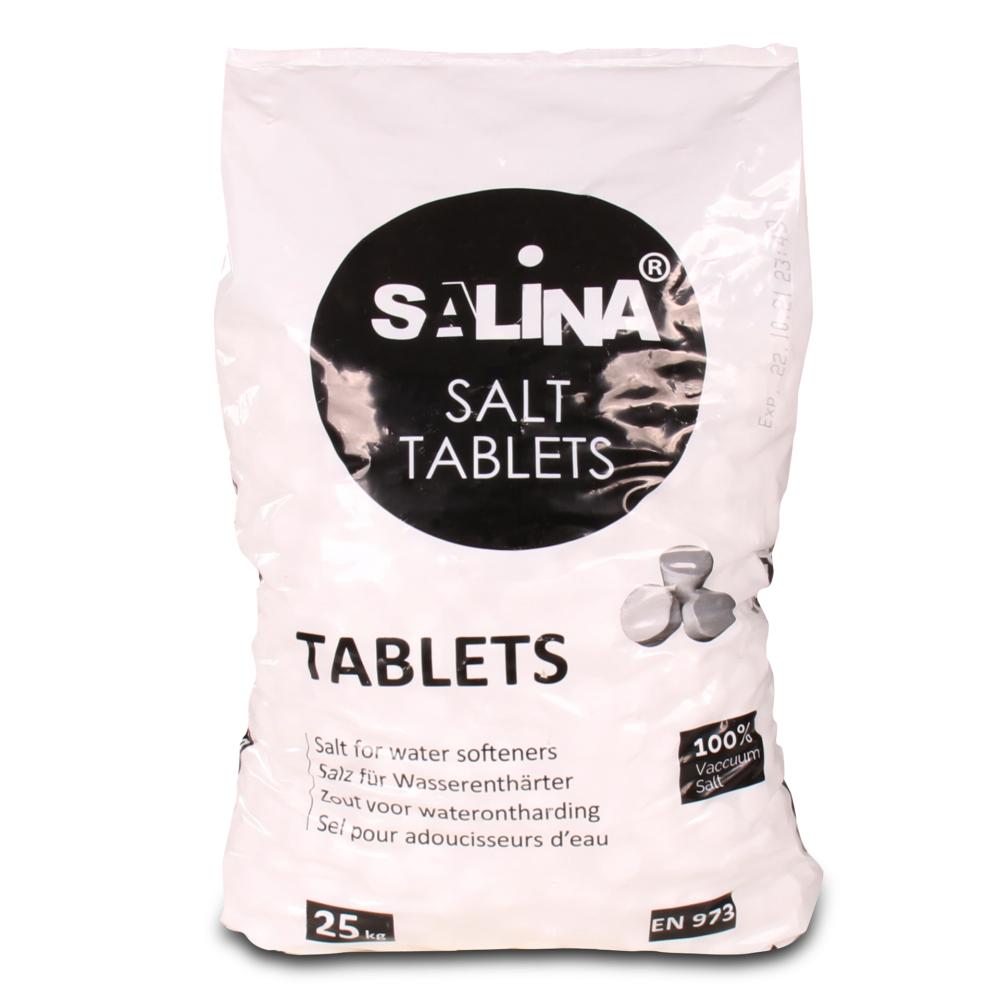 Salina 25kg Regeneriersalz Siedesalz Salztabletten